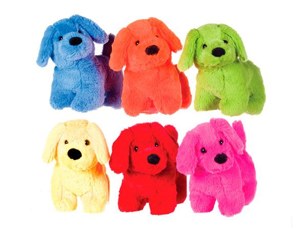 PAWS 9inch Standing Dog - 6 Assorted  (whl)