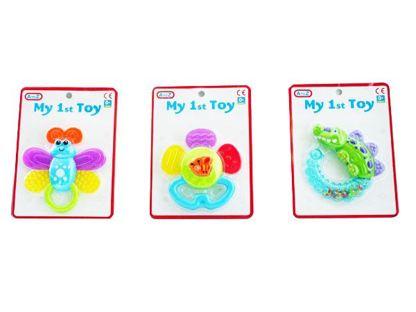 A To Z (Funtime) My First Toy Rattle & Teether