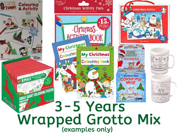 Grotto Toy Mix 3-5 Years UNISEX, Ready Wrapped