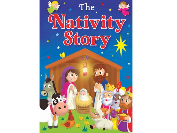 The Nativity Story, A5 Padded - RRP 3.99 by Brown Watson
