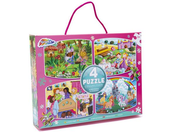 Grafix Girls 4 Jigsaw Puzzle Collection