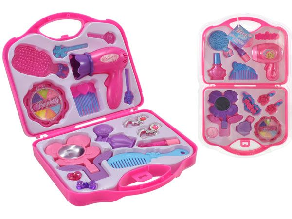 Its Girls Stuff...Girls Vanity Clamshell Beauty Set